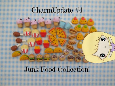 Polymer Clay Charm Update #4: Junk Food Collection