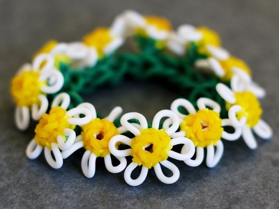Rainbow Loom™  Macro Daisy Flower Tutorial Part 2