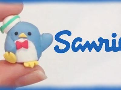 Sanrio Tuxedo Sam Penguin Clay Tutorial