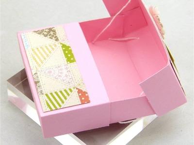 Stampin Up UK Secret Closure Gift Treat Soap Box