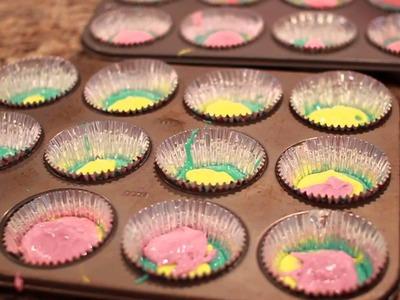 Tie-Dye Cupcake Tutorial   HelloKatyxo
