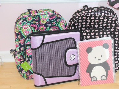 What's In My Backpack 2014 || 9th Grade