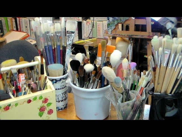 Which Brush for What Medium & How To Keep Them Nice!