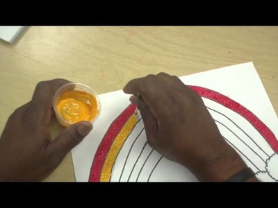 Art Lessons For Kids: Rainbow Paint Party Pt 2