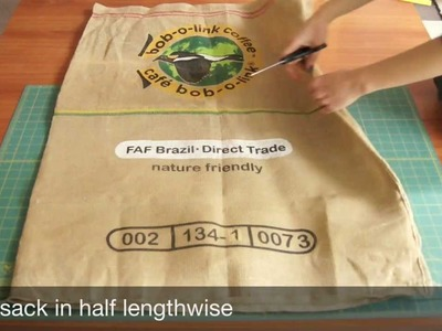 Beropa Co. Sewing Tutorial: From Burlap Coffee Sack to Versatile Tote Bag