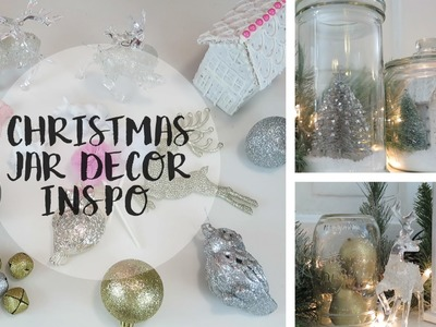 Christmas Jar Decor Inspiration