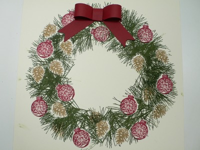 Christmas Wreath Ornamental Pine