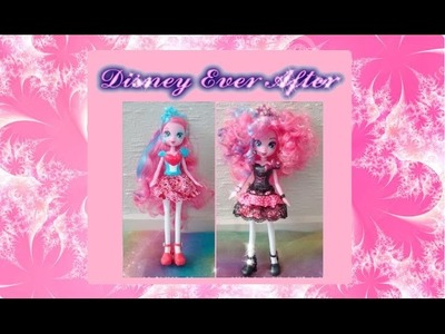 CUSTOM Pinkie Pie doll - My Little Pony Equestria Girl makeover for Rainbow Rocks