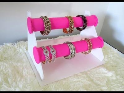 DIY Bracelet Holder | Bangle Stand