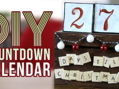 DIY Christmas Countdown Calendar