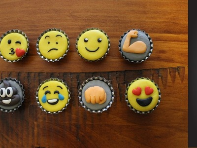 DIY Emoji Magnets | Craft of Giving
