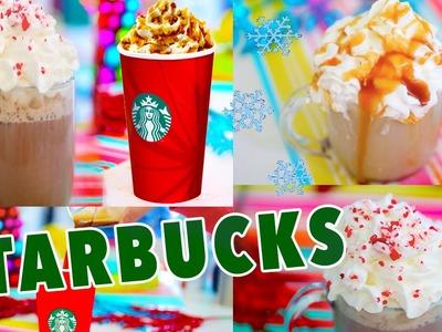 DIY Holiday Starbucks Drinks!