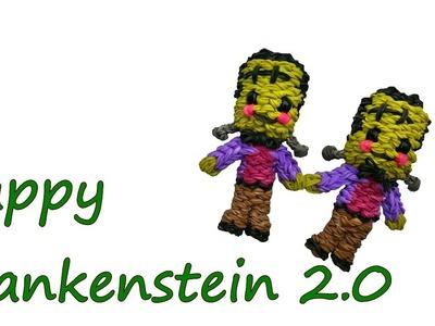 Happy Frankenstein 2.0 Tutorial by feelinspiffy (Rainbow Loom)