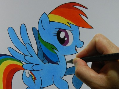 How to Draw Rainbow Dash