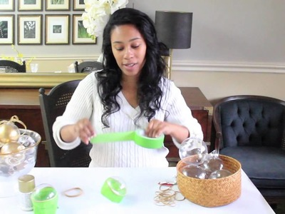 How To Make DIY Ornaments - Home Made by Carmona