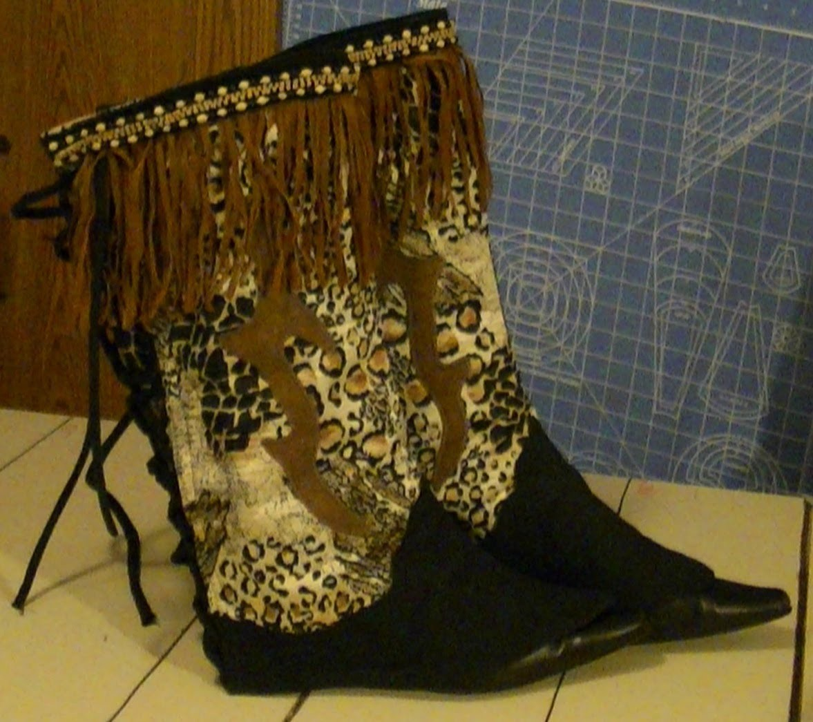 Make Your Own Cowboy Boots- Part 1 - Sewing With Niler