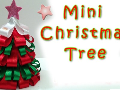 Mini Christmas Tree - EASY!!  Ana | DIY Crafts.Christmas Decorations