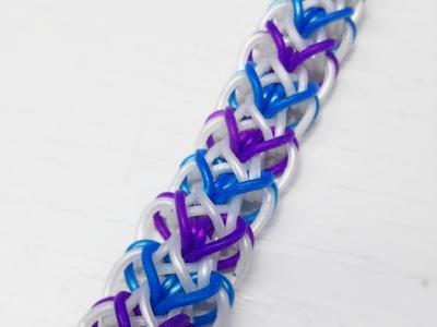 NEW Diamond Heart Rainbow Loom Bracelet Tutorial (Original Design)