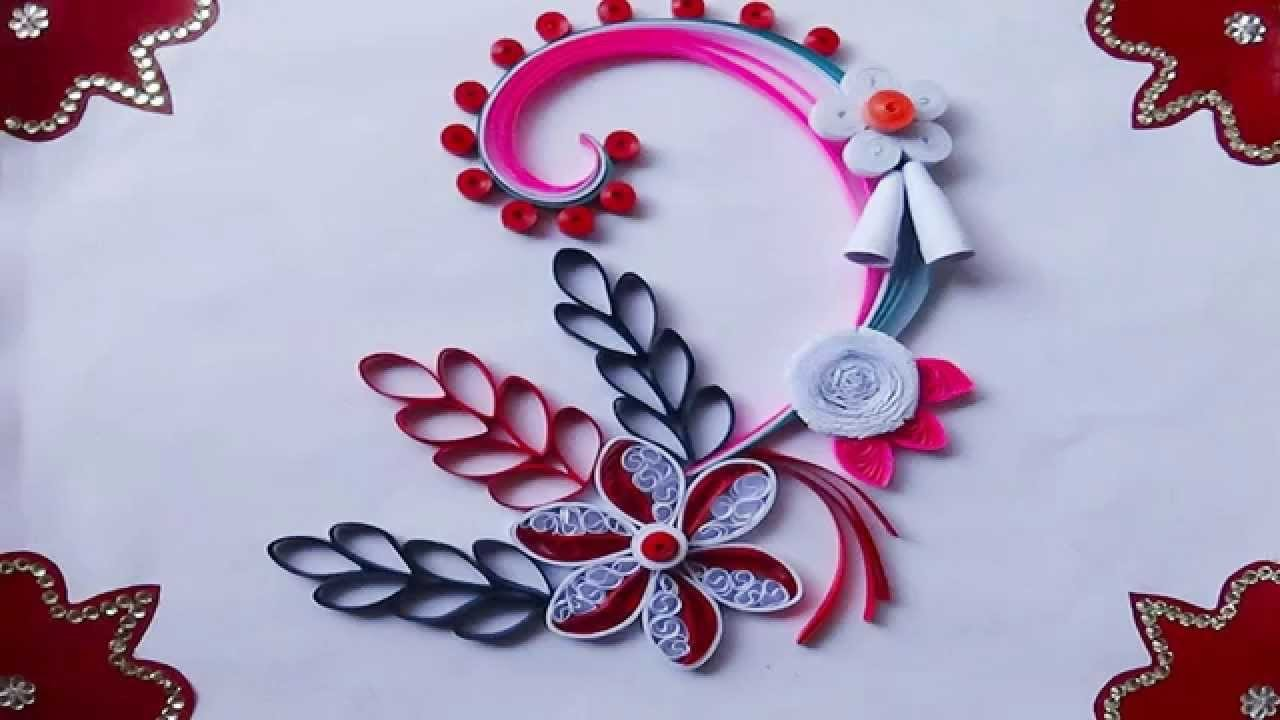 Paper quilling how to make beautiful greeting card for christmas 2015 kristyandbryce Choice Image