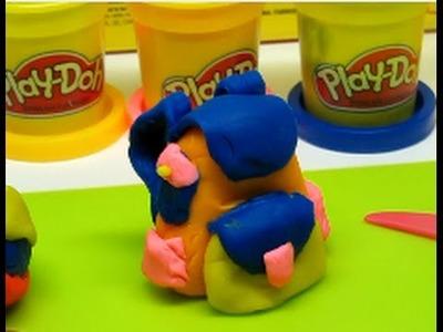 Play-Doh Rainbow Starter Pack- pelota, patineta, y mochila con plasticina, plastilina, massinha