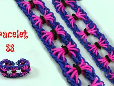 Rainbow loom bracelet 33
