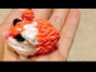 Rainbow Loom Charms: Guinea Pig. Hamster (Fun Loom + bands, Crazy Loom)