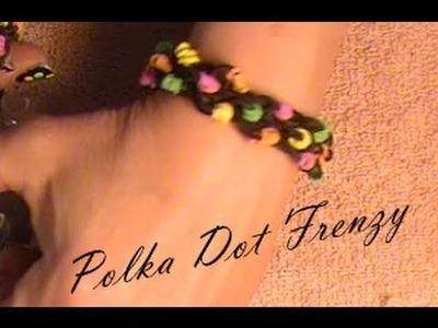 Rainbow loom Polka Dot Frenzy