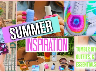 Summer Inspiration | Tumblr Inspired DIY's, Outfit Ideas, & Essentials!