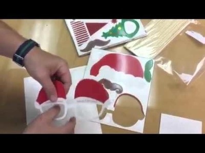TinkSky 62 Piece Christmas Photo Booth Props and Accessories DIY Favor Review