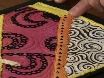 Using 3-D Lumiere As A Fun Quilting Tool     National Sewing Circle