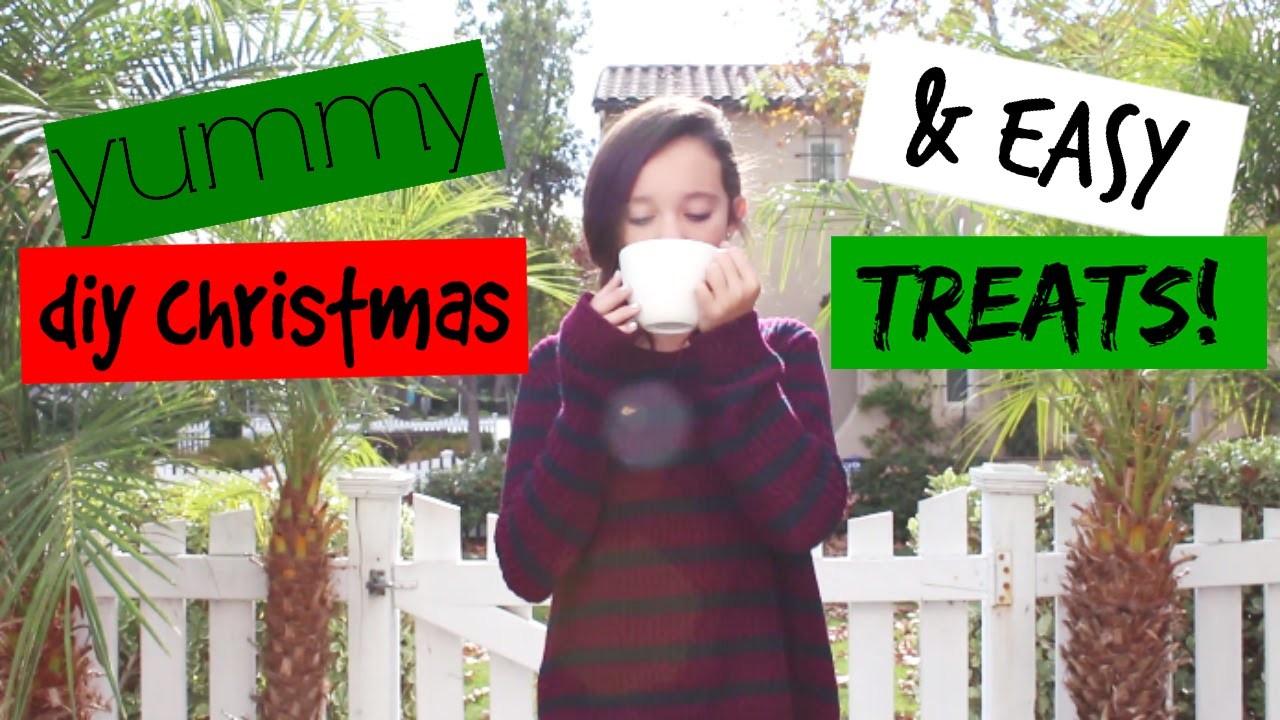 Yummy & Easy DIY Christmas Treats!