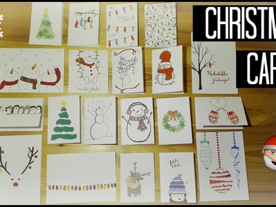 20 DIY Christmas Card Ideas | My Christmas Cards For 2015 | Johanna's DIY
