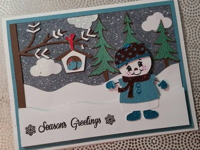 2015 Christmas Card #2 Season Greeting Scene