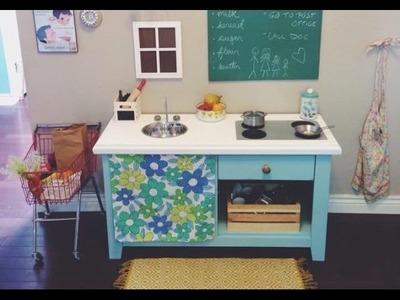 CHEAP DIY Play Kitchen!