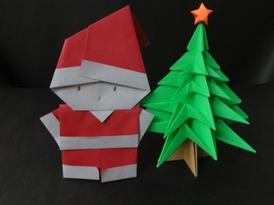 Christmas Crafts: How to fold a Santa Clause