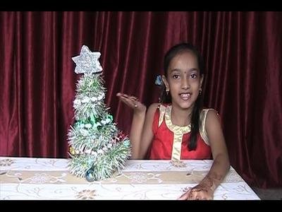 Christmas Tree Making  Easy method in 2 minute New Idea XMAS Tree making & Christmas tree decoration