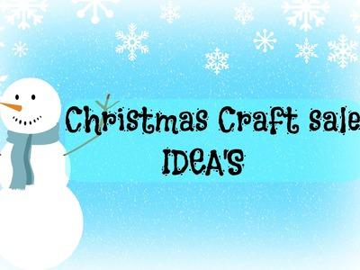 CRAFT SALE IDEAS | DIY | CHRISTMAS CRAFTS | EASY