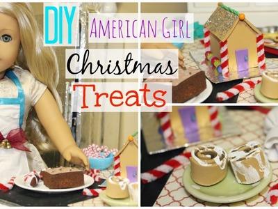 DIY American Girl Doll Christmas Treats and Desserts!