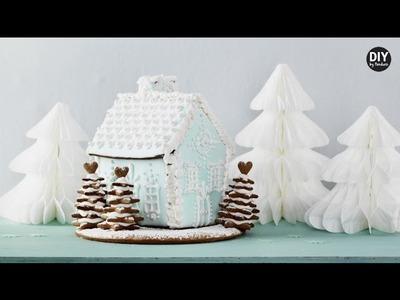 DIY by Panduro: Gingerbread house à la Frozen