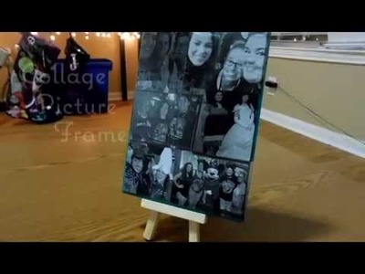DIY Christmas Gift: Collage Picture Frame | Ashley Wert