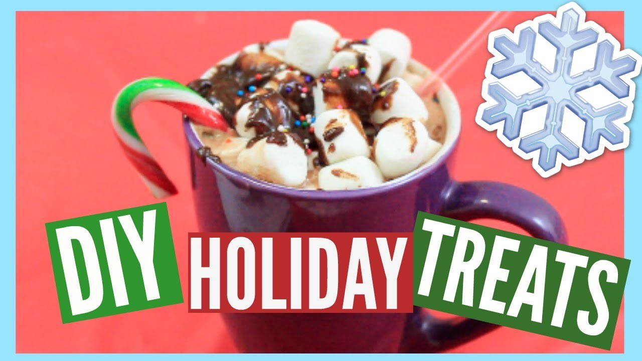 Easy & Quick DIY Holiday Treats ♡ Tumblr & Pinterest Inspired