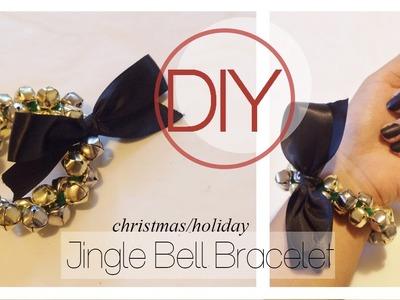 Holiday.Christmas Jingle Bell Bracelet [DIY Tutorial]