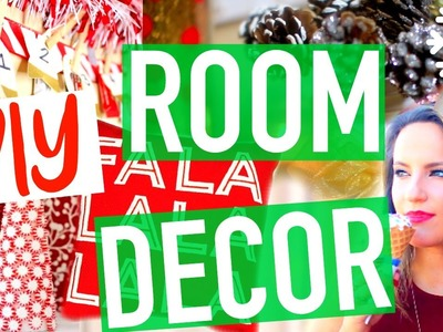Holiday Room Makeover! DIY Christmas Decor + Ideas!