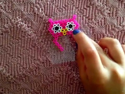 How to make a melting bead owl