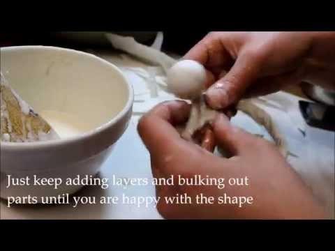 How To Make A Papier Mâché Christmas Tree Angel