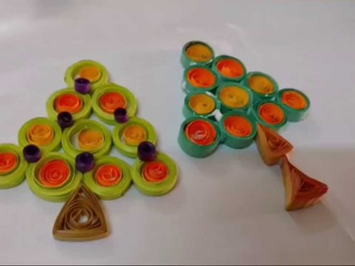 How To Make Christmas Tree with Paper Quilling