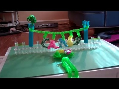 Leprechaun Trap Made With 1,000 Mini Rubber Bands on a Rainbow Loom