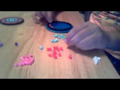 My perler bead circle design