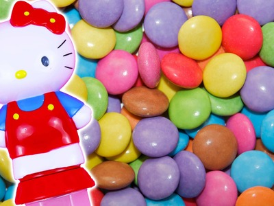 New Learn Colours with Hello Kitty Candy Rainbow, Learning Colors for children