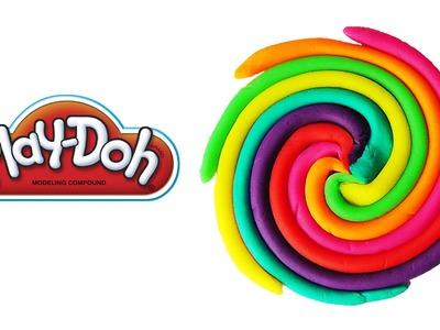 Play-Doh Rainbow Swirl